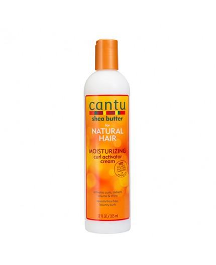 CANTU - NATURAL HAIR - Lait Activateur Boucles au Beurre de Karité (Moisturizing Curl Activator Cream)  - 355ml