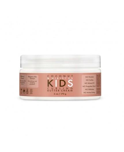 SHEA MOISTURE KIDS - COCONUT & HIBISCUS - Crème Définition Boucles (Curling Butter Cream) - 170g