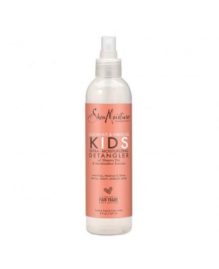 SHEA MOISTURE KIDS - COCONUT & HIBISCUS - Spray Démêlant Boucles (Extra Moisturizing Detangler) - 237ml