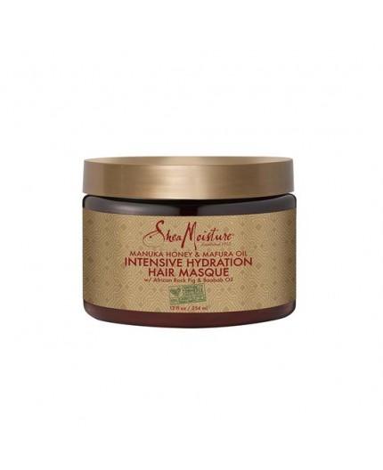 SHEA MOISTURE - MANUKA HONEY & MAFURA OIL - Masque Hydratation Intense (Intensive Hydratation Hair Masque) - 354ml