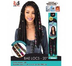 "BOBBI BOSS - Mèches Bae Locs 20"" BOBBI BOSS CROCHET BRAID LOCKS"
