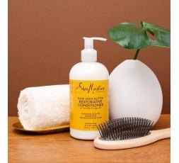 SHEA MOISTURE - RAW SHEA BUTTER - Après-Shampoing Extra-Hydratant (Restorative Conditioner) - 384ml SHEA MOISTURE Accueil