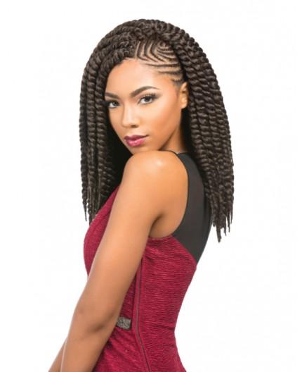"SENSATIONNEL - Mèche Crochet Braids Rumba Twist 12"" (African Collection)"