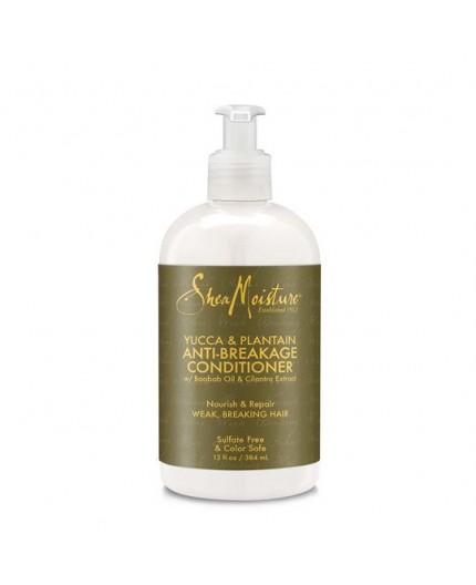 SHEA MOISTURE - YUCCA & PLANTAIN - Après-Shampoing anti-casse (Anti-Breakage Conditioner) - 384ml