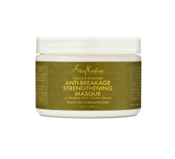 SHEA MOISTURE - YUCCA & PLANTAIN - Masque anti-casse (Anti-Breakage Strengtening Masque) - 340g SHEA MOISTURE SHAMPOING & SOIN