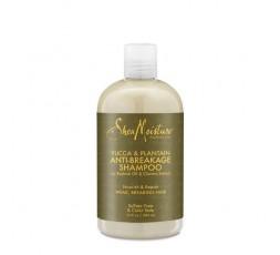 SHEA MOISTURE - YUCCA & PLANTAIN - Shampoing anti-casse (Anti-Breakage Shampoo) - 384ml SHEA MOISTURE SHAMPOING