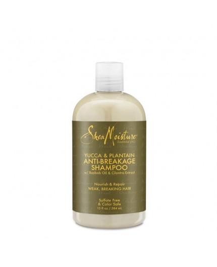 Shampoing anti casse SHEA MOISTURE YUCCA & PLANTAIN
