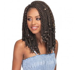 "BOBBI BOSS - Mèche Crochet Braids Bomba Senegal Twist Blunt Tips 10"" BOBBI BOSS CROCHET BRAID TRESSE"