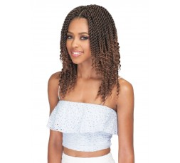 "BOBBI BOSS - Mèche Crochet Braids Bomba Senegal Twist Curly Tips 10"" BOBBI BOSS CROCHET BRAID TRESSE"
