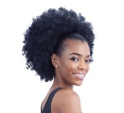 Donna Clara - Postiche Chignon Afro Bang Bang Combi L DONNA CLARA  POSTICHES