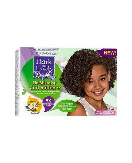Dark And Lovely- Assouplissent Pour Enfant Kit (Curl Softner Kit)