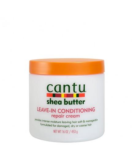 CANTU - Démêlant sans rinçage au Beurre de Karité (Leave-in Conditioning Repair Cream) - 453g