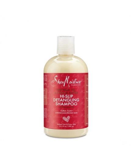 Shea Moisture Shampoing Démêlant  Huile de Palme Rouge & Beurre De Cacao (399ml)