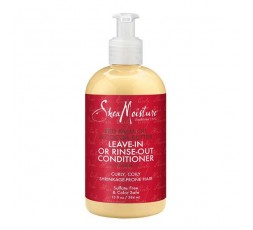 SHEA MOISTURE – PALM OIL & COCOA - Après-Shampoing Sans Rinçage (Leave-in or Rinse Out Conditioner) - 384ml SHEA MOISTURE CRÈ...