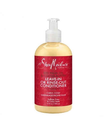 SHEA MOISTURE – PALM OIL & COCOA - Après-Shampoing Sans Rinçage (Leave-in or Rinse Out Conditioner) - 384ml