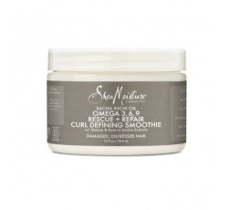 SHEA MOISTURE - SACHA INCHI OIL OMEGA 3 6 9 - Crème Définition Boucles (Rescue & Repair Curl Defining Smoothie) - 354ml SHEA ...