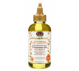 African Pride - Moisture Miracle - 5 huiles Essentielles (118ml) AFRICAN PRIDE  ebcosmetique