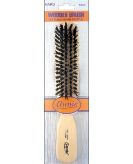 ANNIE- Brosse Au Poils Dur (Wooden Brush)