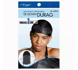 Magic Collection- Durag Ajustable Noir MAGIC COLLECTION  PERRUQUE PROMO