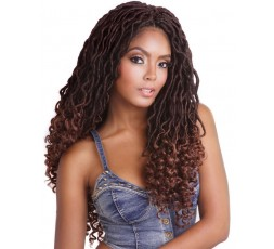SLEEK - Mèche Crochet Braids Jamaica Canna Fausses Locks SLEEK HAIR  MECHES POUR LOCKS