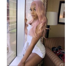 EB VIRGIN HAIR- Perruque Brésilienne Rose Lisse - 100% Vierge  PERRUQUE BRÉSILIENNE