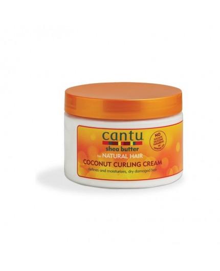 CANTU - NATURAL HAIR - Crème coiffante à l'huile de Coco (Coconut Curling Cream) - 340g
