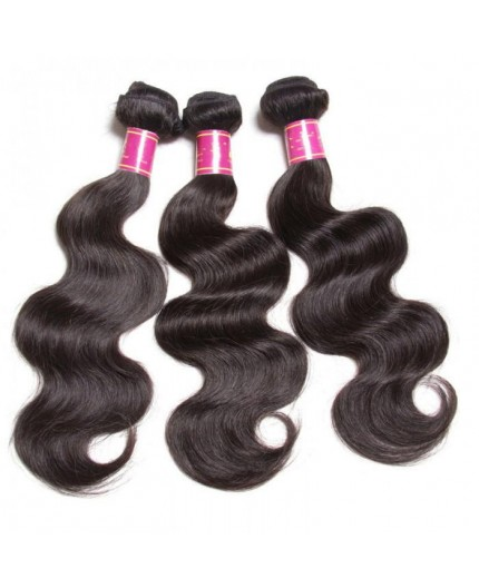 EB VIRGIN HAIR- Lot de 3 Tissage Body Wave 100% Vierge