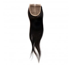 EB VIRGIN HAIR- Closure 4*4 Lisse 100% Vierge  CLOSURE EB VIRGIN HAIR