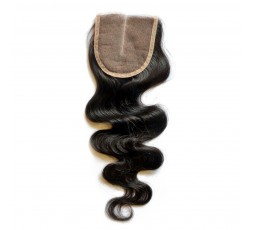 EB VIRGIN HAIR- Closure 4*4 Body Wave 100% Vierge  CLOSURE EB VIRGIN HAIR