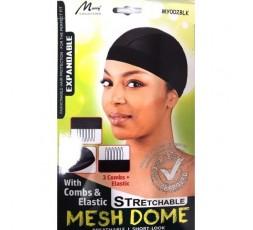 MURRY COLLECTION- Bonnet Pour Tissage Extensible (Mesh Dome MY002BLK)