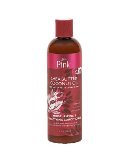 LUSTER'S PINK SHEA BUTTER & COCONUT OIL- Après Shampoing Nourrissant