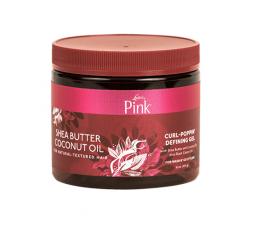 LUSTER'S PINK SHEA BUTTER & COCONUT OIL- Gelée Coiffante Pour Cheveux Bouclés PINK  ACTIVATEUR & DEFINISEUR DE BOUCLES