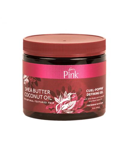 LUSTER'S PINK SHEA BUTTER & COCONUT OIL- Gelée Coiffante Pour Cheveux Bouclés