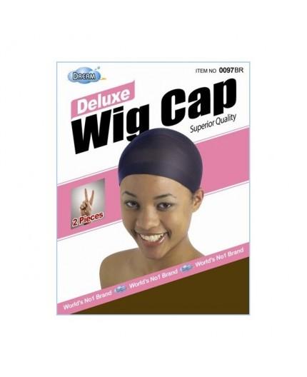 DREAM- Bonnet Pour Perruque Marron Foncé X2 (wig cap)