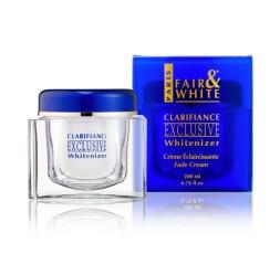 FAIR AND WHITE - EXCLUSIVE - Crème Clarifiante Et Eclaircissante Pour Le Visage FAIR AND WHITE CRÈME ÉCLAIRCISSANTE CORPS
