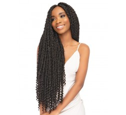 "JANET COLLECTION - Mèche Crochet Braids Passion Twist Braid 24"" JANET COLLECTION  CROCHETS BRAIDS"