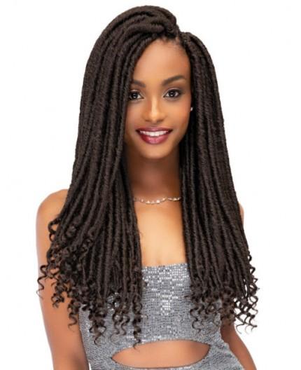 "JANET COLLECTION - Mèche Crochet Braids Ghana Faux Locs 20"""