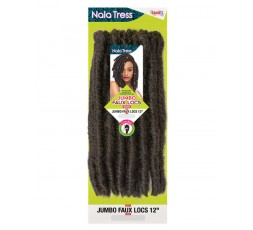 "JANET COLLECTION - Mèche Crochet Braids Jumbo Faux Locs 12"" JANET COLLECTION  CROCHET BRAID LOCKS"