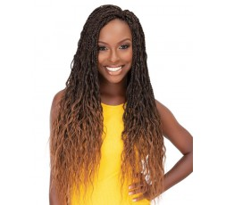"JANET COLLECTION - Mèche Crochet Braids Messy Box Braid 24"" JANET COLLECTION  CROCHET BRAID TRESSE"