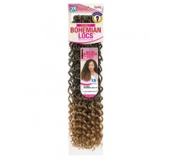 JANET COLLECTION - Mèche Crochet Braids 2X Curly Bohemian Locs 18″ JANET COLLECTION  CROCHET BRAID LOCKS