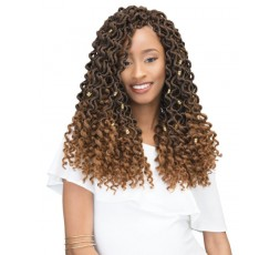 JANET COLLECTION - Mèche Crochet Braids 2X Curly Bohemian Locs 18″ JANET COLLECTION  ebcosmetique
