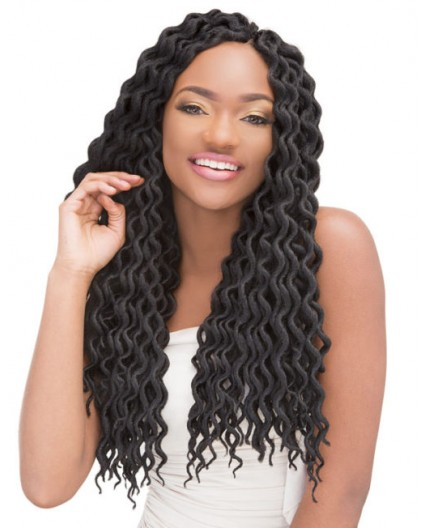JANET COLLECTION- Mèche Crochet Braids 2X Mambo Natural Coily Locs