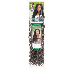 JANET COLLECTION- Mèche Crochet Braids 2X Mambo Natural Coily Locs JANET COLLECTION  ebcosmetique