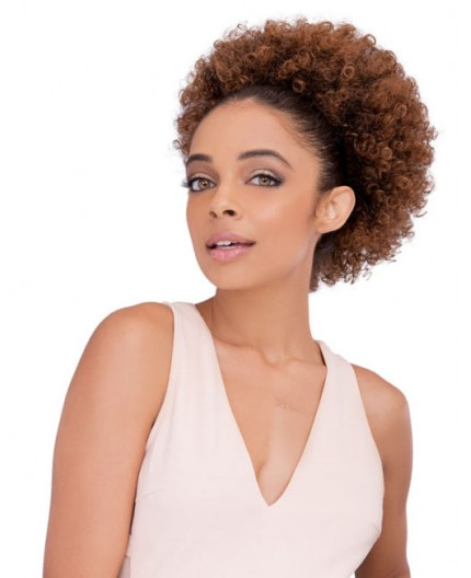 JANET COLLECTION - Postiche Chignon Afro Perm-L String