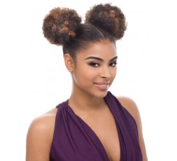JANET COLLECTION - Postiche Chignon Afro Puff 2 Pièces JANET COLLECTION  POSTICHES