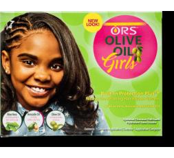 ORS Girl- Olive Oil Défrisage Kit ORS  GAMME ENFANT