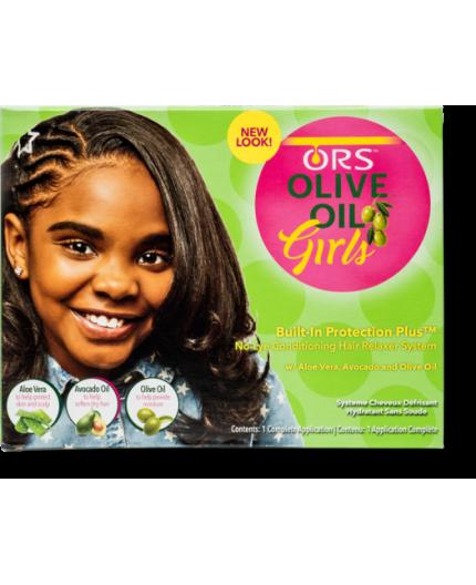 ORS Girl- Olive Oil Défrisage Kit
