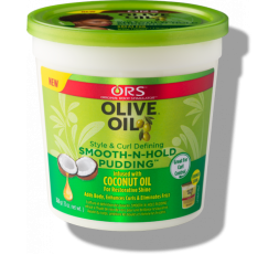 ORS- Olive Oil Smooth-N-Hold Pudding ORS  CRÈME COIFFANTE