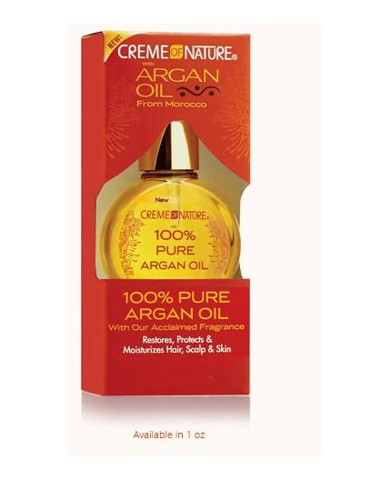 Creme Of Nature- Argan 100% Pure