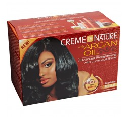 Creme Of Nature Argan Oil- Défrisage Sans Soudes Kit A L'huile D'Argan CREME OF NATURE  ebcosmetique